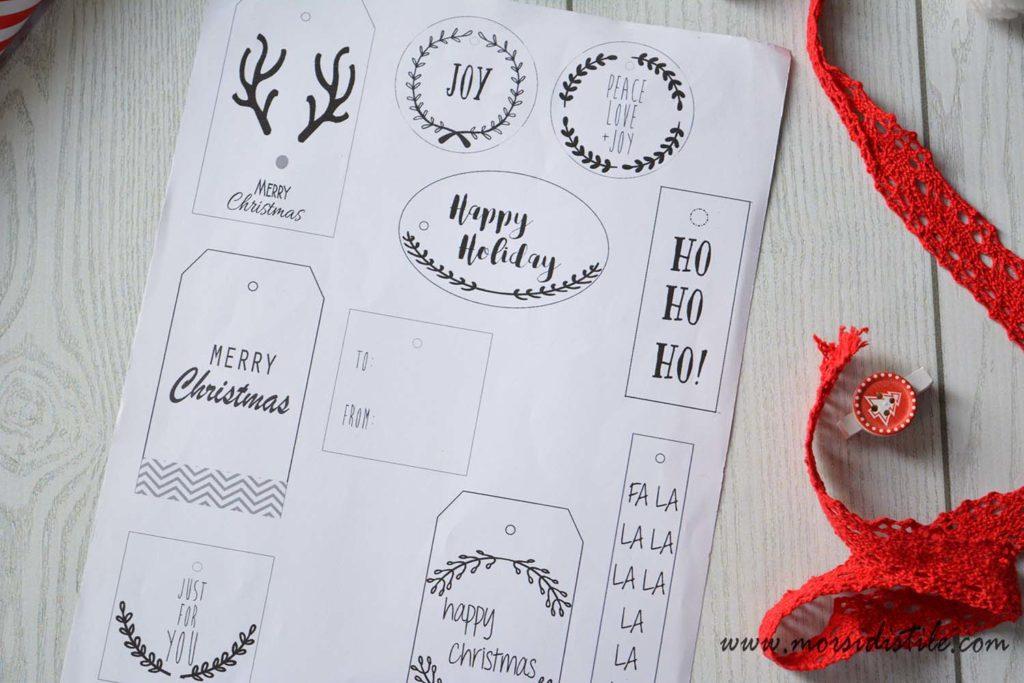 Etichette Per Regali Di Natale Da Stampare.Etichette Per Regali Di Natale Da Stampare Morsi Di Stile Storie