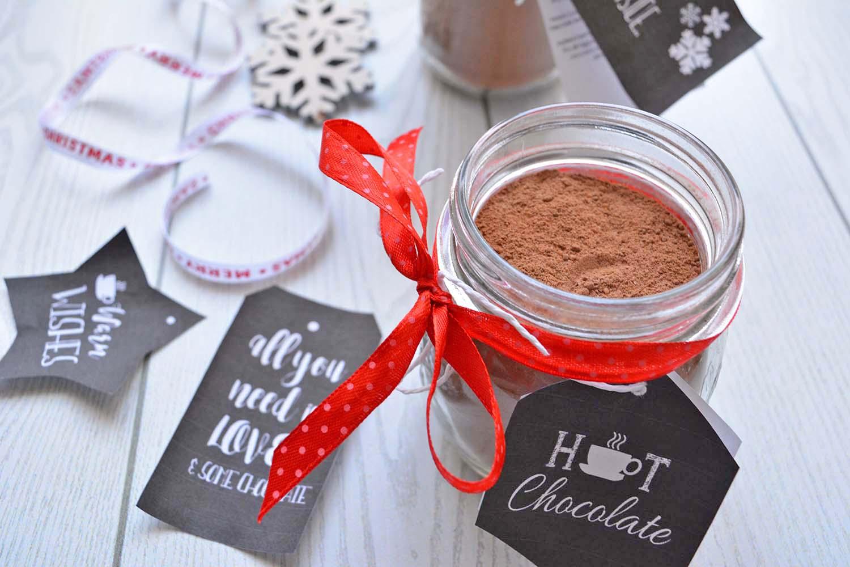 Preparato per cioccolata calda, un dolce pensiero per Natale