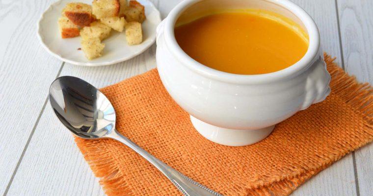 Vellutata di carote e zenzero, detox con gusto