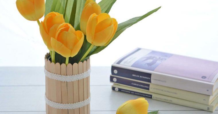 Vaso da fiori fai da te: una ventata di primavera in casa