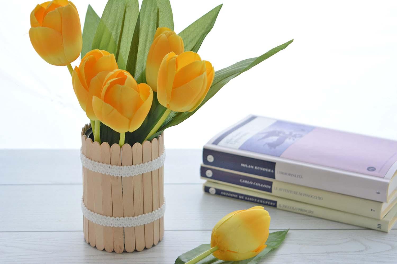 Vaso da fiori fai da te una ventata di primavera in casa for Fiori invernali da vaso esterni