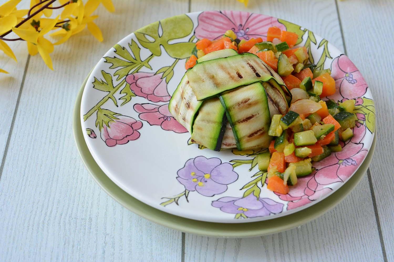 Scrigni di Riso Venere con verdure al curry