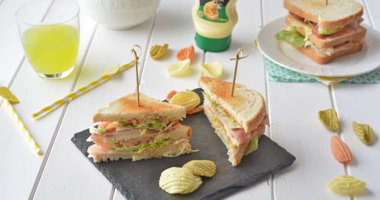 Club Sandwich: la ricetta del panino a strati più famoso al mondo